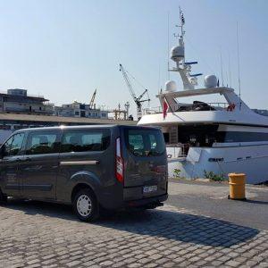 Ford transit Tourneo Custom minivan 9 θέσεων 4
