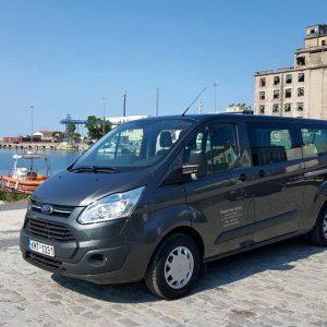 Ford transit Tourneo Custom minivan 9 θέσεων 3