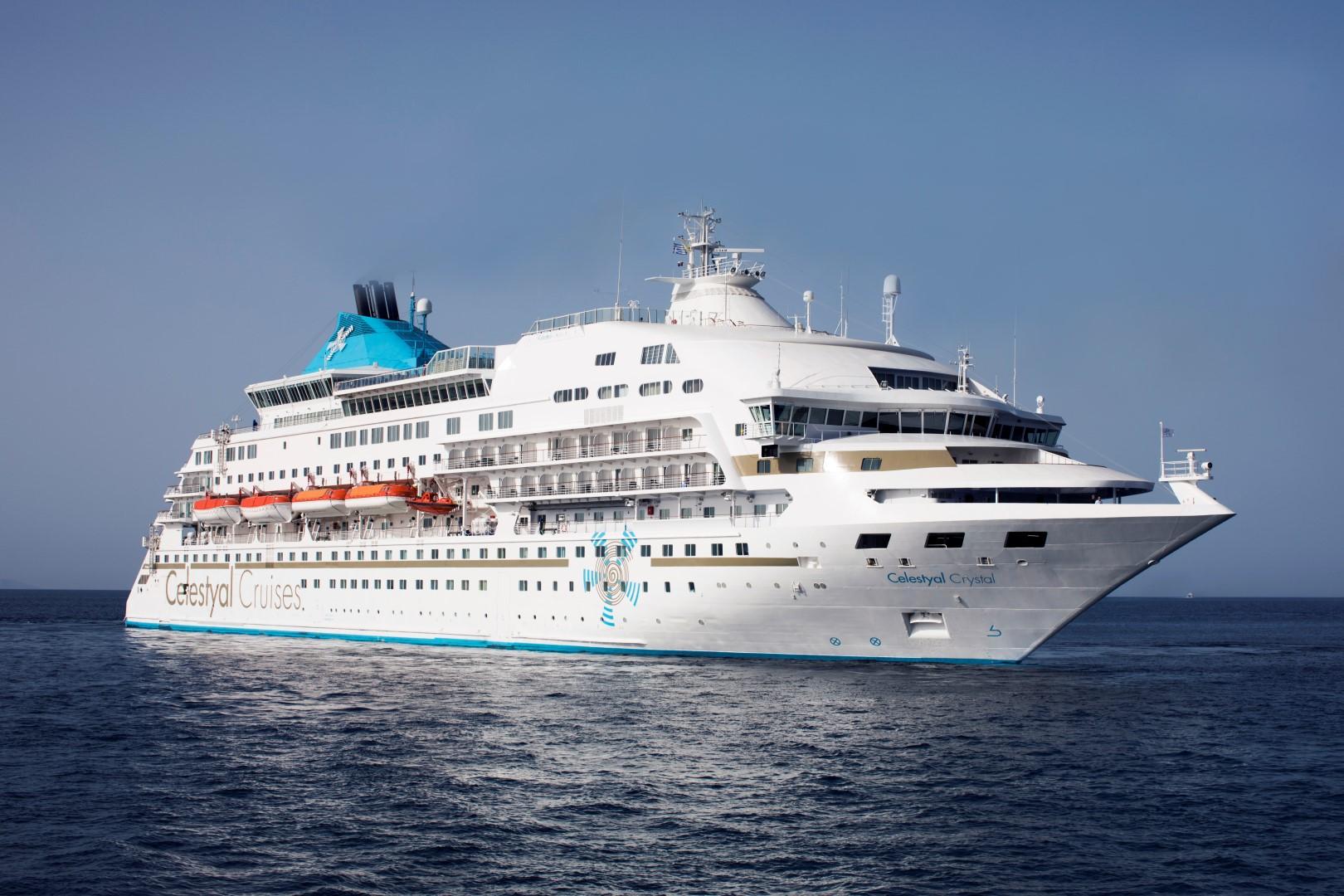 Το κρουαζιερόπλοιο Celestyal Crystal :