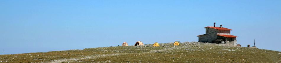 2η ημέρα : Ανάβαση στις Κορυφές – Οροπέδιο Μουσών - Καταφύγιο «Χρήστος Κάκκαλος» στα 2,700μ